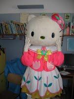 Hello Kitty nei reparti di pediatria